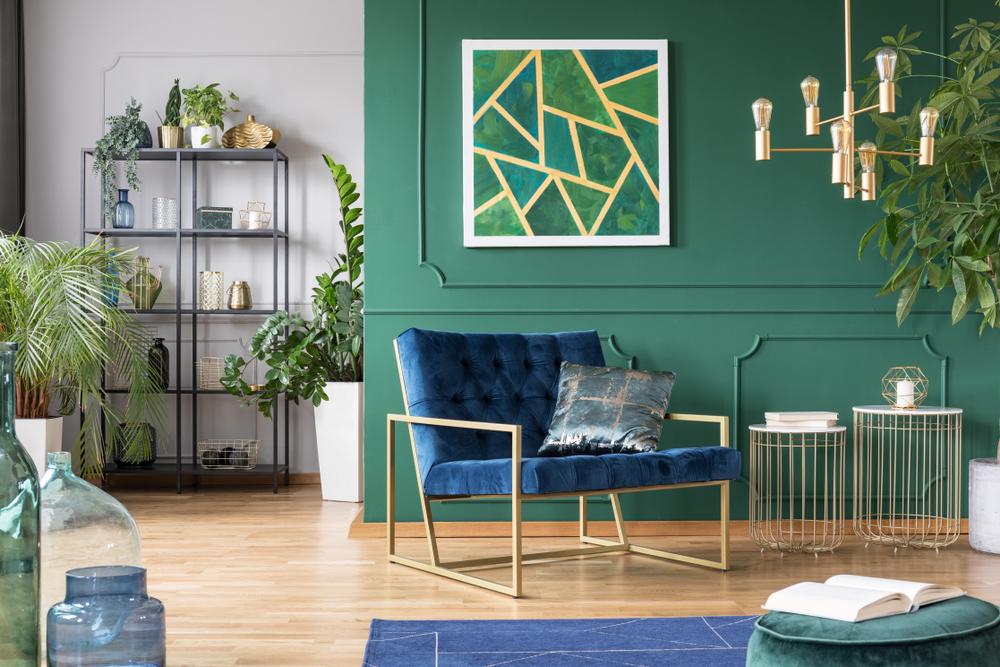 La couleur tendance 2021 le vert émeraude